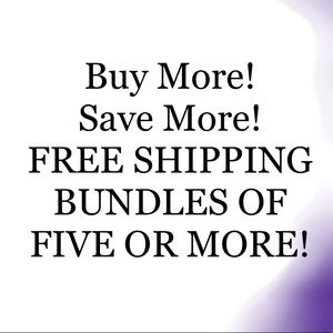 Buy more to save more! Get a bigger discount now!